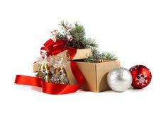 圣诞节玩具 免版税库存图片