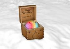 圣诞节玩具3d翻译 免版税库存图片