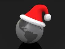 圣诞节环球 皇族释放例证