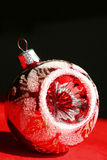 圣诞节玻璃装饰品 免版税图库摄影
