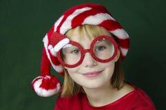 圣诞节玻璃 免版税库存图片