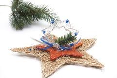 圣诞节珠宝星形结构树 免版税库存照片