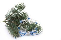 圣诞节珠宝结构树 免版税库存照片