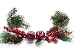 圣诞节珠宝 免版税库存照片
