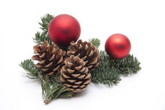 圣诞节珠宝 免版税图库摄影