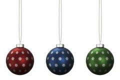 圣诞节球设置了14 库存例证