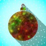圣诞节球 向量 免版税图库摄影