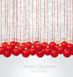 圣诞节球 库存图片