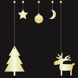 圣诞节球 免版税图库摄影