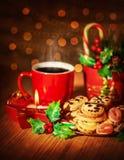圣诞节甜点静物画 库存照片