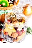 圣诞节甜点 免版税图库摄影