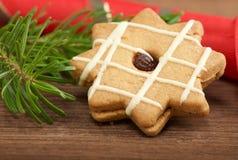 圣诞节甜点 库存照片