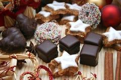 圣诞节甜点 免版税库存图片