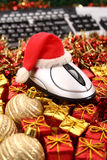 圣诞节电子商务时间 免版税库存照片