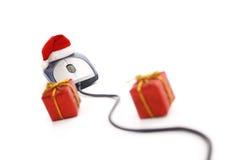圣诞节电子商务时间 库存照片