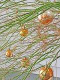 圣诞节电灯泡装饰 免版税库存图片