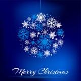 圣诞节电灯泡 免版税库存照片