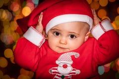 圣诞节男孩 库存照片