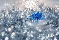 圣诞节的不可思议的神仙的背景 图库摄影