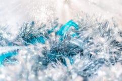 圣诞节的不可思议的神仙的背景 免版税库存图片