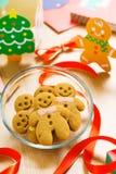 圣诞节的姜饼 库存图片