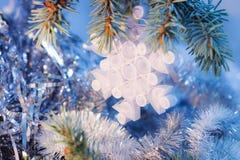 圣诞节的孩子工艺 免版税图库摄影