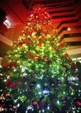 圣诞节的彩虹颜色 免版税图库摄影