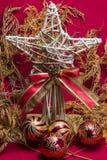 圣诞节的明信片 免版税库存照片