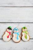 圣诞节的曲奇饼 库存照片