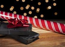 圣诞节的步枪杂志 免版税库存图片