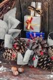 圣诞节的礼品 免版税图库摄影