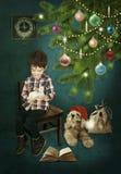 圣诞节的礼品 库存照片