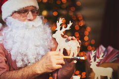 圣诞节的符号 免版税库存图片