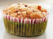 圣诞节的自创蓝莓松饼 库存图片