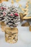 圣诞节的装饰品 免版税库存照片