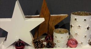 圣诞节的装饰 免版税库存照片