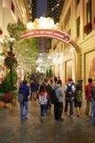 圣诞节的香港 免版税库存照片