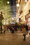 圣诞节的香港 免版税库存图片