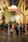 圣诞节的香港 免版税图库摄影