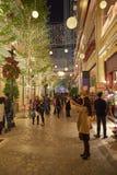 圣诞节的香港 库存图片