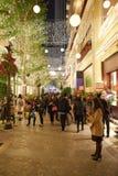 圣诞节的香港 库存照片