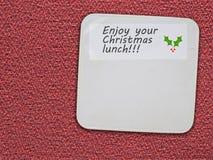 圣诞节的-乐趣没有饮食 1 3个卫生间彩色插图称剪影向量 图库摄影