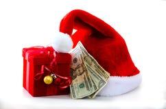 圣诞节的费用 库存图片