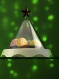 圣诞节的Macaron 免版税图库摄影