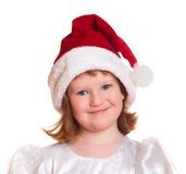 圣诞节相当女孩纵向 库存图片