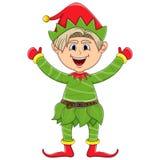 圣诞节矮子动画片 库存照片