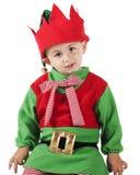 圣诞节矮子年轻人 库存照片