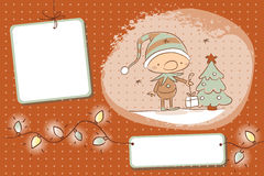 圣诞节矮子 免版税库存图片