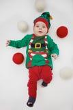 圣诞节矮子 库存照片