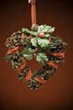 圣诞节礁石 免版税库存图片